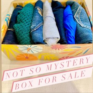 Not so mystery box for sale! Cleaning my closet!